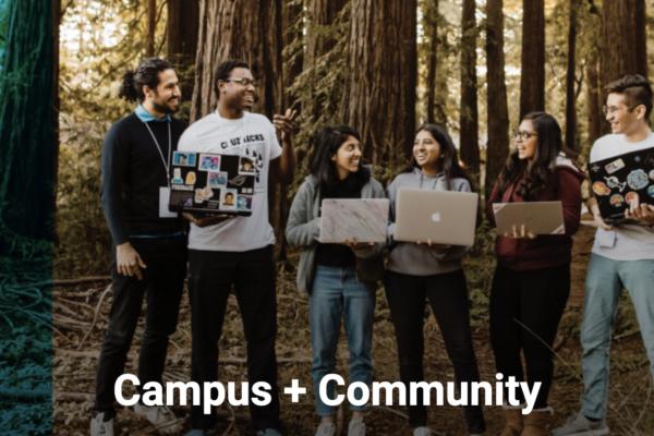 Campus plus Community