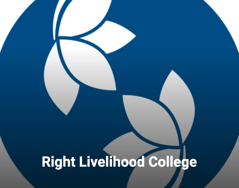 Right Livelihood College logo