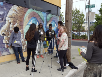 Everett Program Digital Story Telling with Richmond Youth