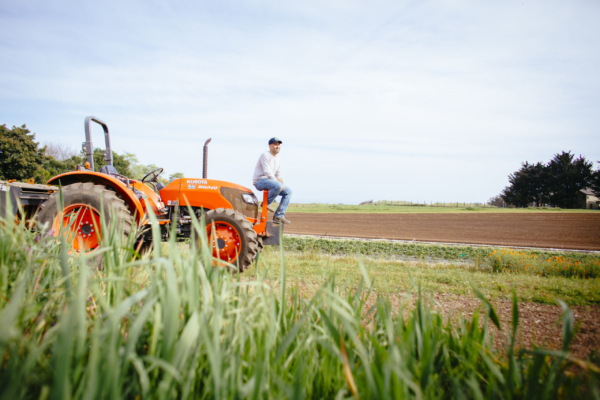 UCSC farm and tractor