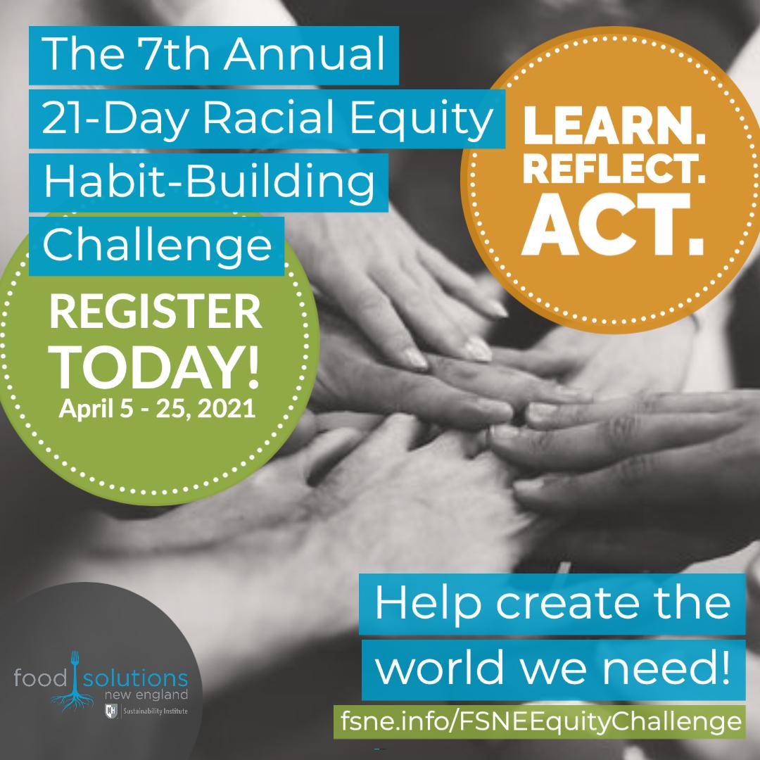 21-Day Racial Equity Habit-Building Challenge