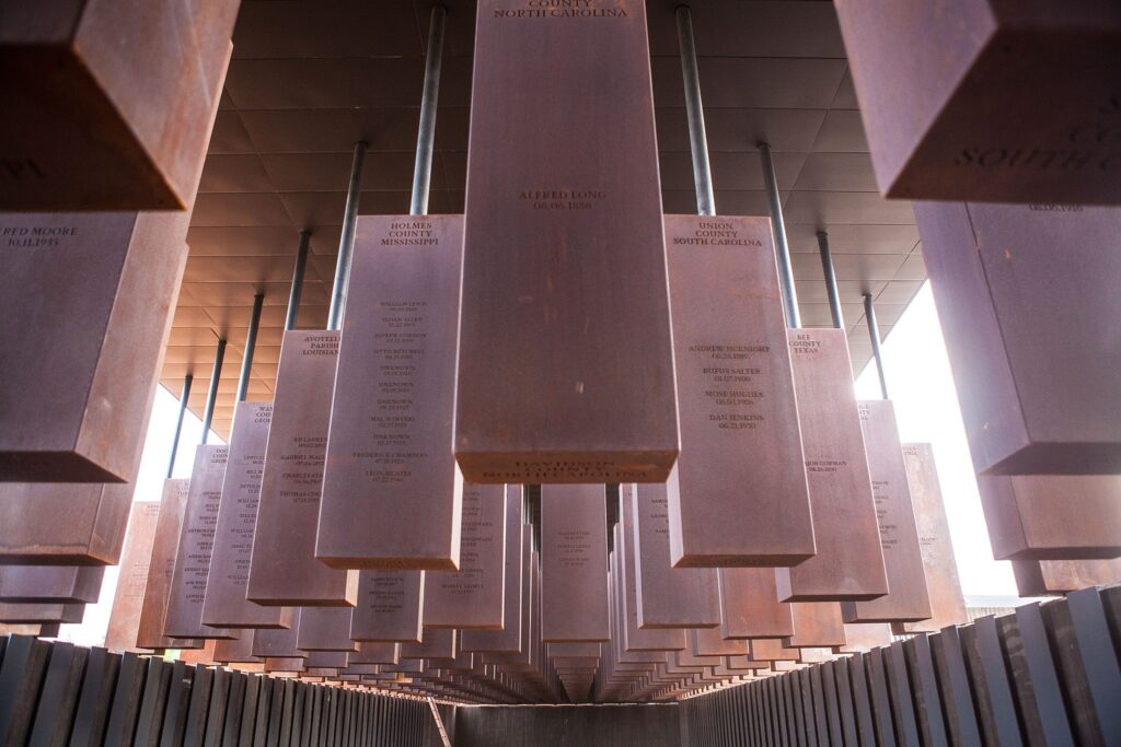 Memorial Corridor at The National Memorial for Peace and Justice