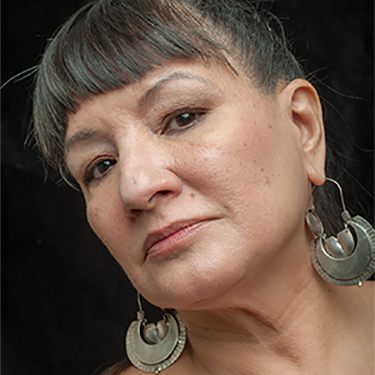 Picture of Sandra Cisneros.